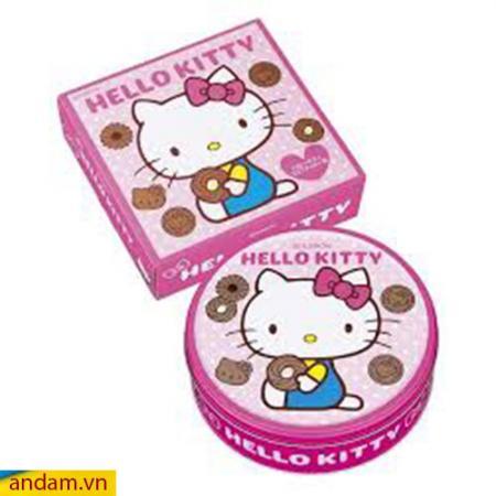 Bánh quy Hello Kitty màu hồng