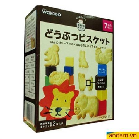 Bánh quy Wakado hình thú vị phô mai