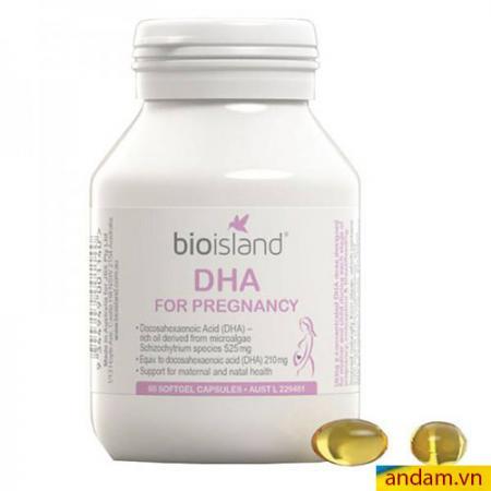 Bioisland DHA cho mẹ bầu (60 viên)
