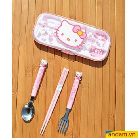 Bộ Muỗng, Đũa, Nĩa Hello Kitty