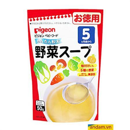 Bột Dashi Pigeon vị rau củ