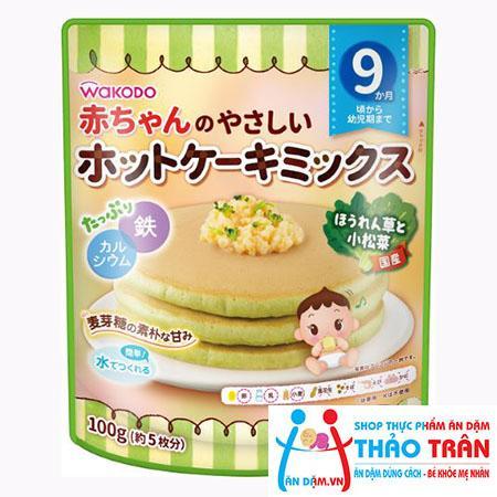 Bột làm bánh Wakodo vị rau xanh