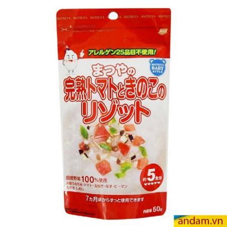 Bột ăn dặm Matsuya vị nấm và rau củ