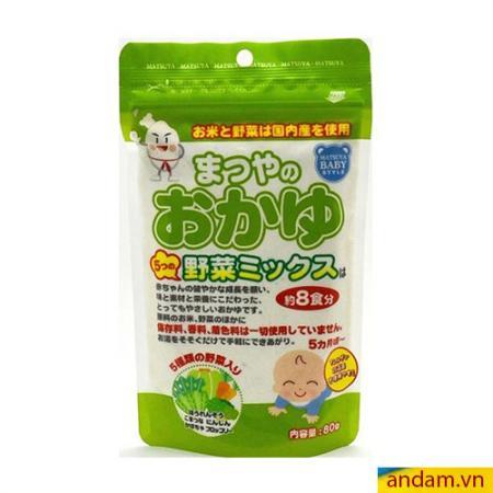 Bột ăn dặm Matsuya vị rau củ