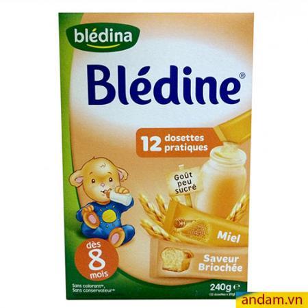 Bột pha sữa Bledina vị mật ong, bánh mì