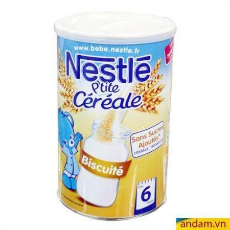 Bột pha sữa Nestle vị Biscuite 400g 6m+