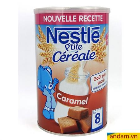 Bột pha sữa Nestle vị Caramen 400g 8m+
