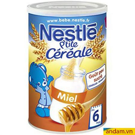 Bột pha sữa Nestle vị Mật ong 400g 6m+