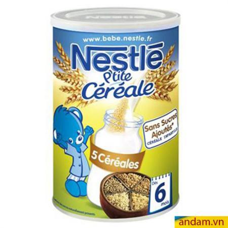 Bột pha sữa Nestle vị Ngũ cốc 400g 6m+