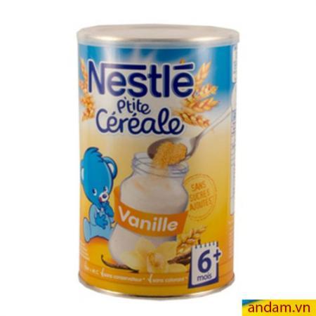 Bột pha sữa Nestle vị vani 400g 6m+