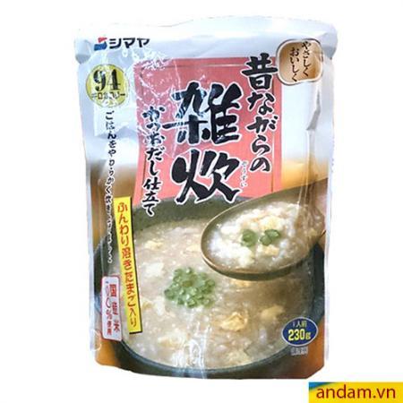 Cháo Shimaya vị trứng và cá ngừ 230g