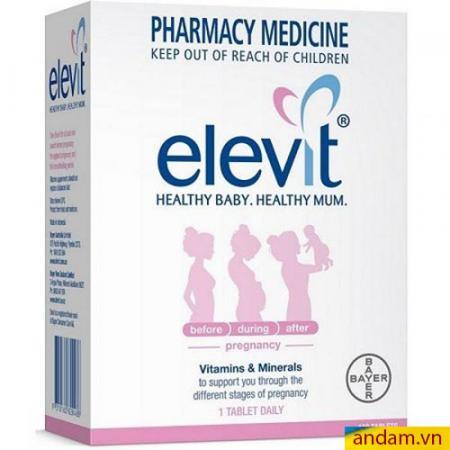 Elevit Úc vitamin thuốc bổ cho mẹ bầu