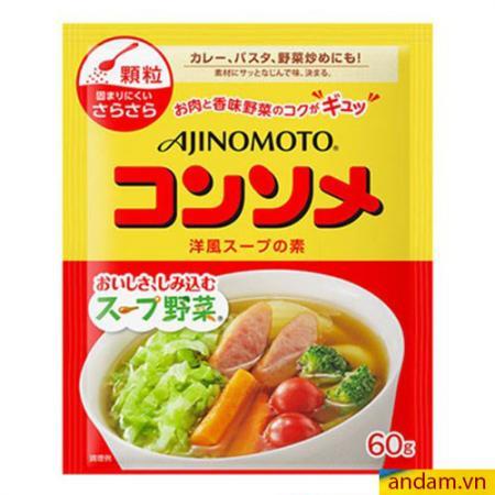 Hạt nêm Ajinomoto vị xúc xích và rau củ