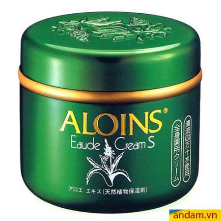 Kem dưỡng trắng da toàn thân ALOINS Eaude Cream S Nhật Bản,hộp 185g