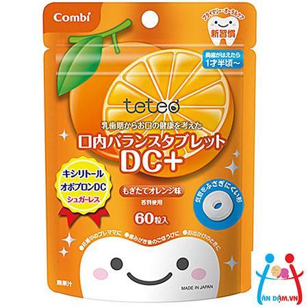 Kẹo sạch răng Combi vị cam