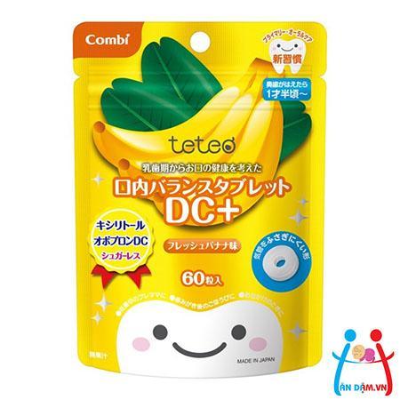 Kẹo sạch răng Combi vị chuối