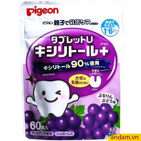 Kẹo sạch răng Pigeon vị nho