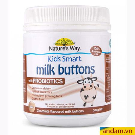 Kẹo sữa bò Úc bổ sung Probiotics cho bé từ 3 tuổi