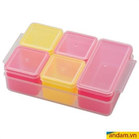 Khay trữ đông thức ăn Cube 5 ngăn