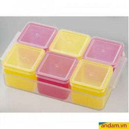 Khay trữ đông thức ăn Cube 6 ngăn