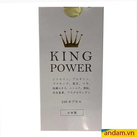 King Power thuốc hỗ trợ sinh lý nam giới
