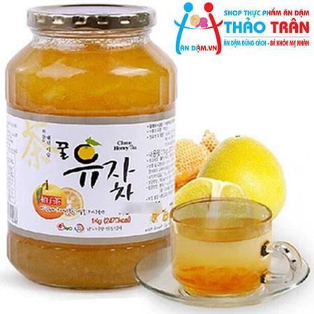 Mật ong, chanh đào Hàn Quốc