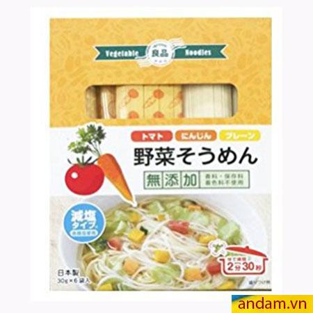 Mì somen rau củ Ryohin vị cà rốt và cà chua