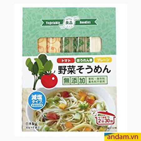Mì somen rau củ Ryohin vị rau và cà chua