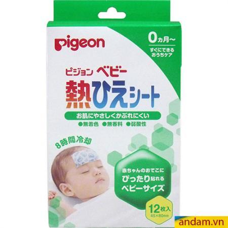 Miếng dán hạ sốt Pigeon 12 miếng