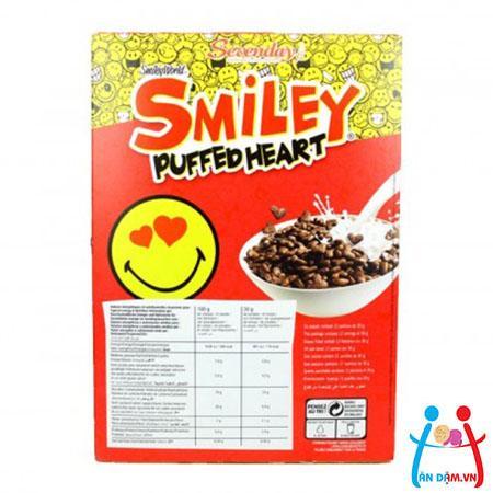 Ngũ cốc ăn sáng Pháp hình trái tim vị chocolate