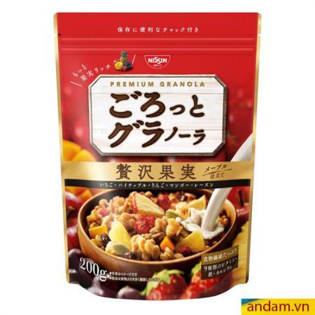 Ngũ cốc Nissin 200g vị trái cây tổng hợp