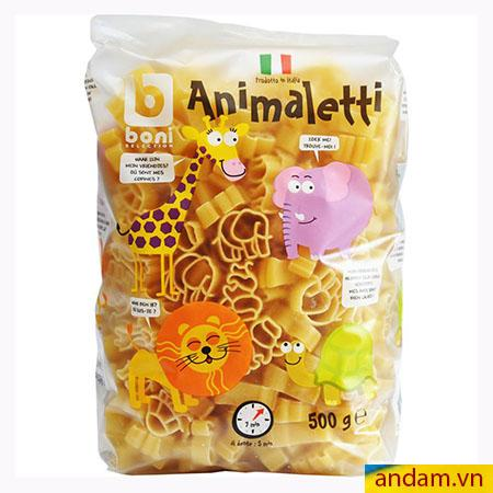 Nui hình thú ANIMALETTI 500G - ITALIA