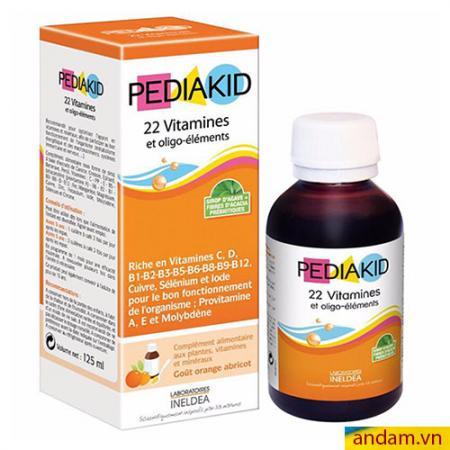 Pediakid 22 vitamin và khoáng chất