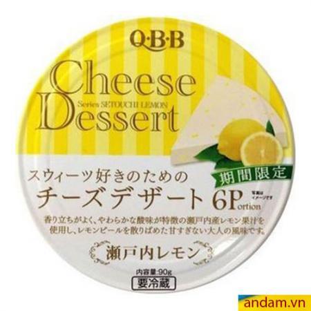 Phô mai QBB Nhật Bản vị chanh - 90g