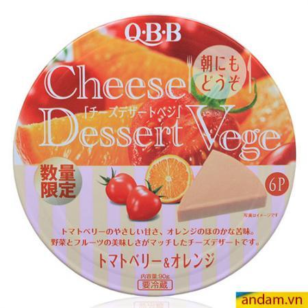 Phô mai QBB vị cam cà chua