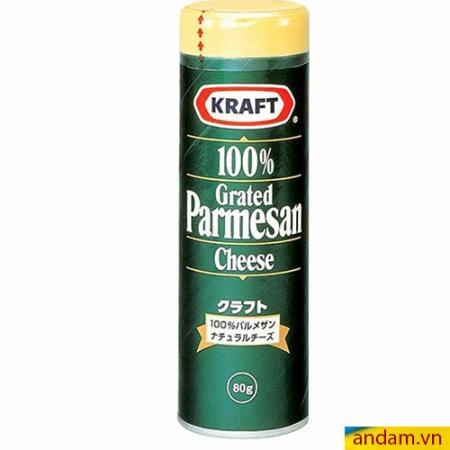 Phô mai rắc Kraft 80g
