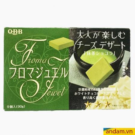 Phô mai vuông QBB vị trà xanh