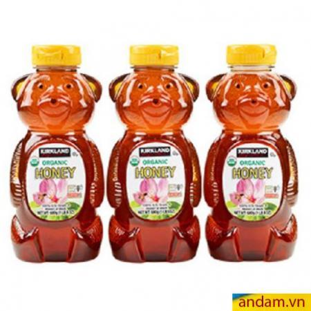 Set 3 chai Mật ong Organic Mỹ Kirkland (có bán lẻ 1 chai)