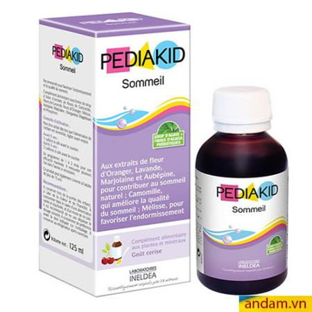 Siro giúp bé ngủ ngon PediaKid Sommeil cho bé từ 6 tháng tuổi