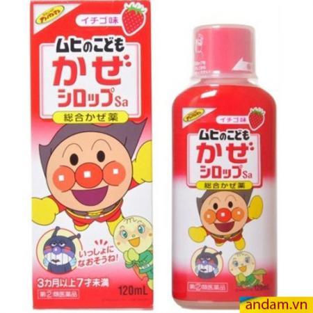 Siro Muhi Nhật Bản 120ml màu đỏ trị cảm, sốt