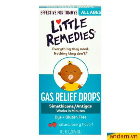 Siro tan biến ợ hơi Little Remedies