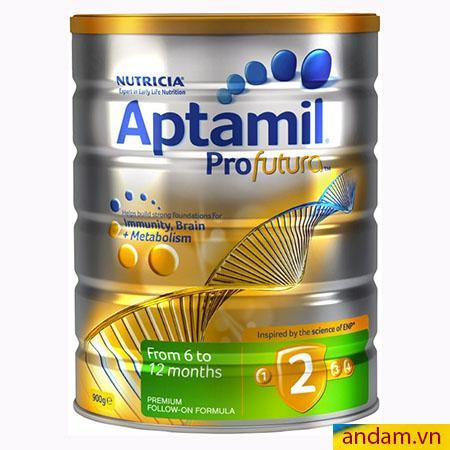 Sữa Aptamil Úc số 2 Profutura (900g) dành cho trẻ từ 6-12 tháng tuổi