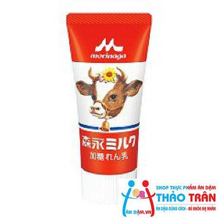 Sữa đặc có đường Morinaga dạng tuýp