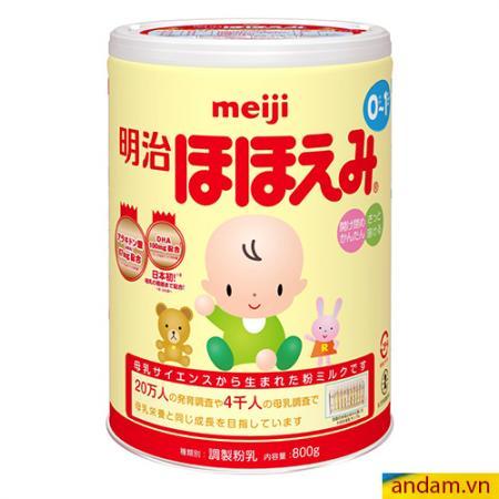 Sữa hộp Meiji 0-1