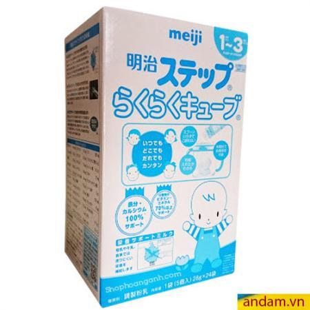 Sữa Meiji số 9 dạng thanh (672g – 24 thanh)