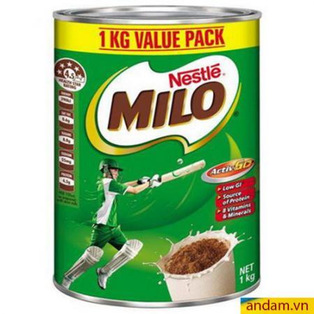 Sữa Milo Nestle Úc 1kg