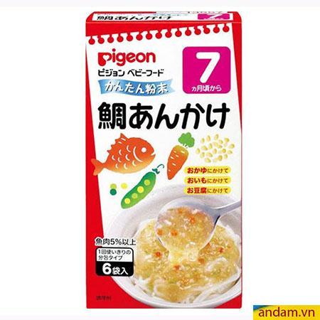 Súp Pigeon vị hải sản và rau củ