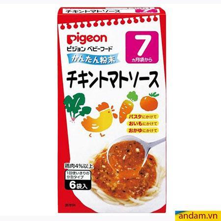 Súp Pigeon vị thịt gà và rau củ