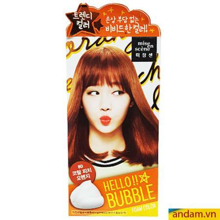 Thuốc nhuộm tóc Hàn Quốc - Mã 02 (lên màu như hình)