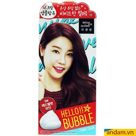 Thuốc nhuộm tóc Hàn Quốc - Mã 01 (lên màu như hình)
